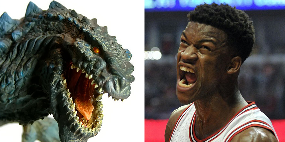 Jimmy Butler Godzilla